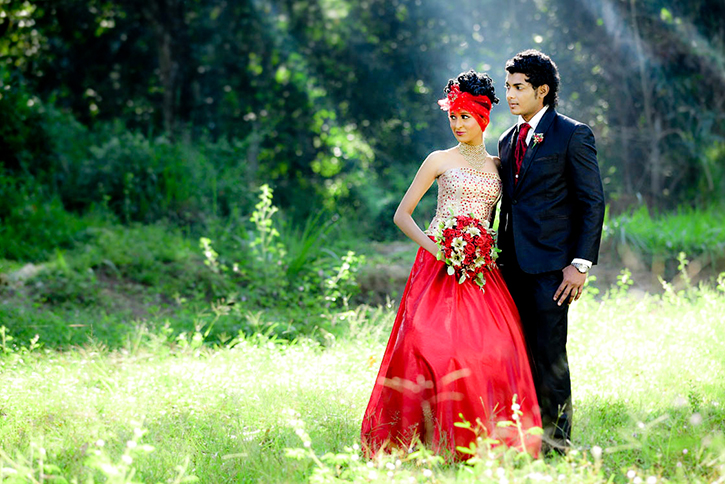 wedding photo shoot at tree of life kandy wedding lounge